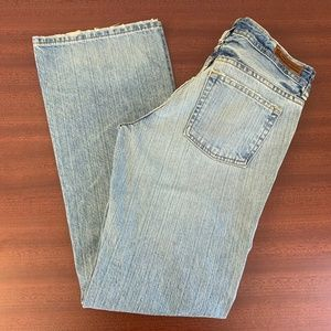 Vintage Factory Distressed Kelly RL Polo Jean